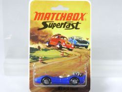Matchbox 61 C Superfast Blue Shark Diecast Lesney MOC MIB Karte OVP
