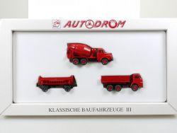 Wiking 990 16 Autodrom Klassische Baufahrzeuge III 3 1/87 OVP