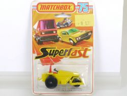 Matchbox 21 Superfast Rod Roller Green Base Lesney N MOC OVP