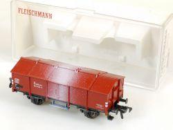 Fleischmann 5210 Klappdeckelwagen Kalkspuren DB neuwertig OVP