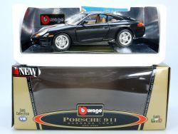 Bburago 3385 Porsche 911 Carrera 1997 MIB Neu NOS 1/18 OVP STG