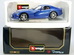Burago Bburago 3030 Dodge Viper GTS Coupe MIB Neu 1/18 OVP ST