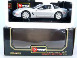 Bburago Burago 3056 Chevrolet Corvette 1997 MIB Neu 1/18 OVP ST