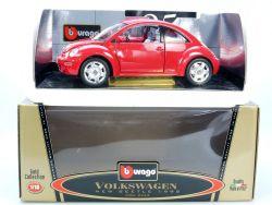 Bburago Burago 3342 VW New Beetle Käfer 1998 MIB Neu 1/18 OVP ST