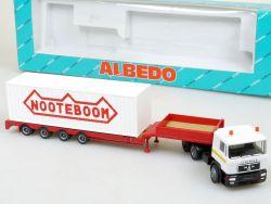 Albedo 800036 MAN Nooteboom Schwerlast-Sattelzug SZ LKW OVP
