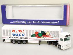 Albedo 296015 Volvo Capé Obst Gemüse Kühlkoffer-SZ LKW OVP