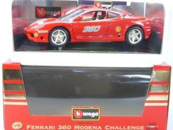 Burago 3378 Ferrari 360 Modena Challenge 1/18 MIB Neu NOS OVP SG