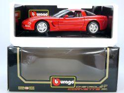 Bburago Burago 3066 Chevrolet Corvette 1997 rot MIB Neu NOS OVP SG