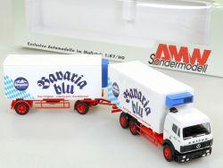 AMW AWM 60050 MB Mercedes Bavaria Blu Culina Hängerzug OVP