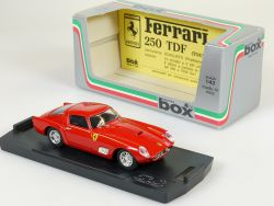 Model Box 8424 Ferrari 250 TDF Tour de France Prova 1:43 OVP
