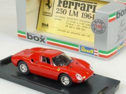 Model Box 8434 Revell Ferrari 250 LM Prova Modellauto 1:43 Vitrine OVP