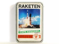 Ass 651 Spielkarten Raketen Space toy Quartett Karten Spiel Apollo OVP