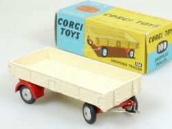 Corgi 100 Dropside Trailer Anhänger für LKW Traktor 60er N MIB OVP