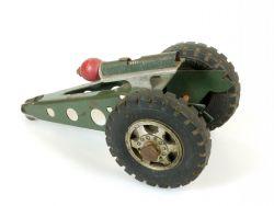 Buddy L Toys Kanone Gun Blech Funktion geprüft Feder ohne OVP