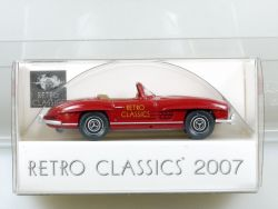 Wiking Mercedes MB 300 SL Roadster Retro Classics 2007 Neu OVP SG