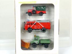 Roco 1333 Einsatzfahrzeuge Seefeld Feuerwehr Steyr Unimog 1:87 OVP