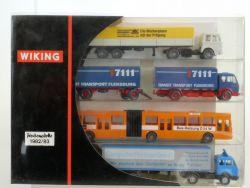 Wiking 198301 Werbemodelle 1982/83 Flensburg MB Mercedes Bus OVP