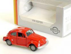 Gama 51104 Volkswagen VW Käfer rot wie neu MIB 1:43 OVP