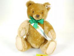 Steiff 650918 Teddybär 33 cm 25 Jahre Spielzeugring Mohair KFS