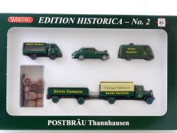 Wiking 81-16 PMS Edition Historica 2 Postbräu Thannhausen Neu OVP SG