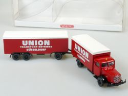 Wiking 886 Büssing 8000 Union Transport-Betriebe HamburgOVP
