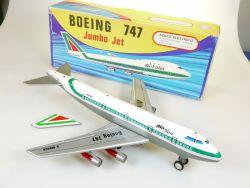 Marchesini AMB 747 Boeing Jumbo Alitalia Blech Tin Flugzeug OVP