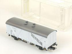 Roco 4312 Kühlwagen gedeckter Güterwagen Seefische DB alt selten OVP