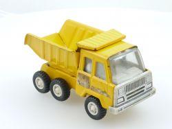 KY China Tipper Truck Kipper LKW gelb Blech Tin Toy 70er Jahre