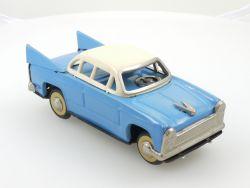 MF 083 China Chevrolet Bel Air blau/weiß Blech Tin Toy Friktion