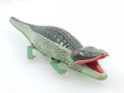 MS 224 Krokodil Crocodile Blech Uhrwerk China imposantes Tier