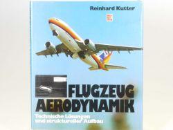 Motorbuch Verlag Flugzeug-Aerodynamik R. Kutter Buch ZZ