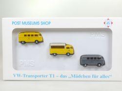 Wiking 81-02 PMS Set WW Transporter Bus T1 Mädchen für alles OVP