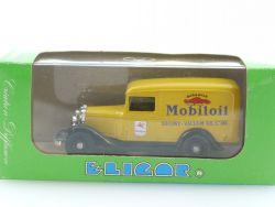 Eligor 1077 Ford V8 Camionnette 1934 Mobil Oil 1:43 neu MIB OVP