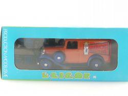 Eligor 1026 Citroen Camionnette 1934 Miror Lion Noir 1:43 MIB OVP