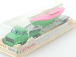 Majorette 365 Remorqueur Boat Carrier rare version MIB neuve NOS OVP
