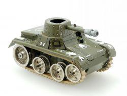 Gama 713 Tank Panzer Schütze alt original Blech Militär 50er Uhrwerk