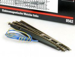 Märklin 8562 mini-club Elektromagnetische Weiche links Spur Z OVP ST