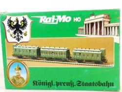 Rai-Mo 200 320  Raimo Bausatz 3x Abteilwagen Preußen Zug NEU OVP