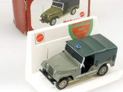 Mebetoys A 89 Jeep Willys P. Sicurezza Mattel 1:43 MIB rare box OVP