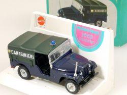Mebetoys A 95 Jeep Carabinieri Polizei Mattel 1:43 MIB seltene OVP