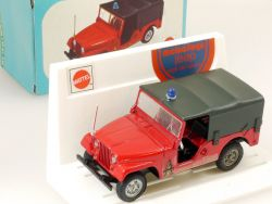 Mebetoys A 81 Jeep Vigili Del Fuoco Mattel 1:43 MIB rare box OVP