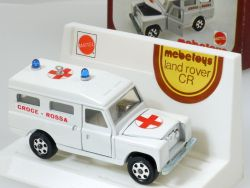 Mebetoys A 42 Land Rover Croce Rossa Ambulance Mattel 1:43 rare OVP