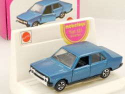 Mebetoys A 85 Fiat 131 Mirafiori Mattel 1:43 Blau Italy rare box OVP