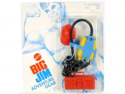 Mattel 7432 7435 Big Jim Adventure Gear Fire Fighter NEU MIB  OVP SG