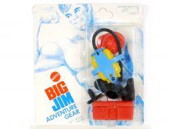 Mattel 7432 7435 Big Jim Adventure Gear Fire Fighter MIB Neu OVP SG