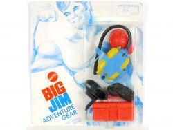 Mattel 7432 7435 Big Jim Adventure Gear Fire Fighter MIB Neu OVP