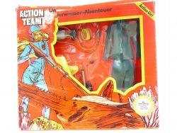 Schildkröt 7076 11 Action Team Girl Unterwasser-Abenteuer MIB Neu OVP