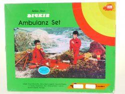 Dickie 7020 Ambulanz-Set für Action-Man Trage Seil MIB Neu OVP SG