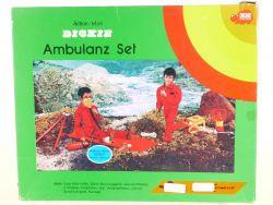 Dickie 7020 Ambulanz-Set für Action-Man Trage Seil MIB Neu OVP