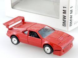 Gama 891 BMW M1 E26 rot Werbemodell Modellauto NEU 1:43 OVP